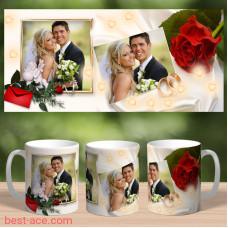 Кружка  Свадебная 1